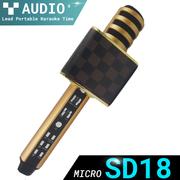 Micro bluetooth karaoke SD18 - Bass siêu trầm âm hay