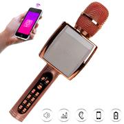 Micro bluetooth karaoke YS91 - Model mới chất âm trong