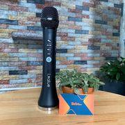 Micro bluetooth kiêm loa I-VALUE - 15W hỗ trợ kết hát trực tiếp trên Ôtô