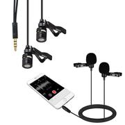 Bộ mic cài áo thu âm cho điện thoại Koolsound Lavalier 2 micro cực kỳ tiện lợi
