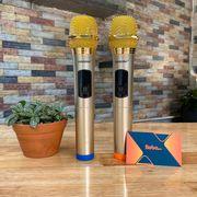 Bộ 2 micro không dây ZANSONG S28 sóng UHF Wireless