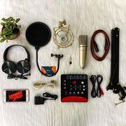 Bộ thu âm chuyên nghiệp soundcard Icon Upod Pro và micro Max-79