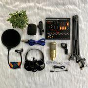 Bộ livestream chuyên nghiệp AQTA 220 với Soundcard V11