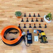 Hệ thống tưới phun sương cho vườn lan tự động 15 béc phun