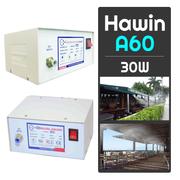 Máy phun sương Hawin A60 chính hãng (hỗ trợ từ 4 đến 10 béc)