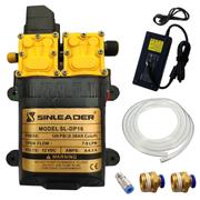 Bộ bơm tăng áp 12V Sinleader TH2203 96W Full - Adapter 12V 10A