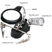 Kính lúp soi kẹp hàn mạch điện tử KL95