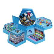 Bộ hộp bút màu 4 tầng xoay - Tổng cộng 46 món ngộ nghĩnh