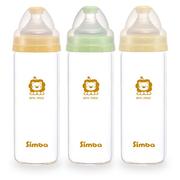 Bình sữa thủy tinh siêu nhẹ cho bé Simba 240ml