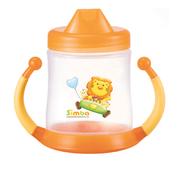 Ly tập uống không rỉ nước 320ml simba - màu cam