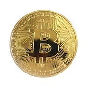 Đồng BITCOIN mạ vàng 24K