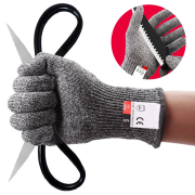 Bộ găng tay chống cắt chống dao HHPE CKG3 - sợi thép không gỉ