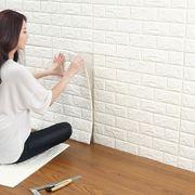 Miếng xốp dán tường 3D giả gạch cách âm