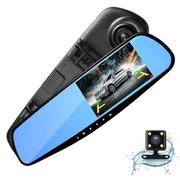 Camera hành trình dạng gương L909C 2.7 inch Full HD - Có camera lùi