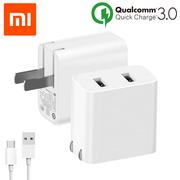 Cốc Sạc nhanh Xiaomi 2 cổng USB Quickcharge 3.0