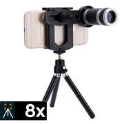 Bộ ống kính điện thoại Zoom Tele 8x H3 - Có Tripod