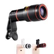 Lens điện thoại giá rẻ tele 8X - Kẹp trực tiếp M3