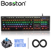 Bàn phím cơ Bosston MK930 chính hãng - Keycab trong suốt