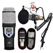 Bộ micro karaoke thu âm M5 - Bán hàng online cực tốt
