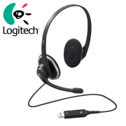 Tai nghe kiểm âm Logitech H340 - Mẫu nhỏ đeo lâu không đau cổng USB