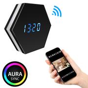 Camera đồng hồ báo thức ngụy trang đổi màu T3 - Spy Hidden Camera Clock