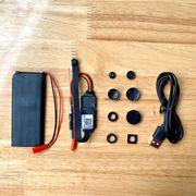 Camera V99S giám sát từ xa wifi siêu nhỏ hình cúc áo