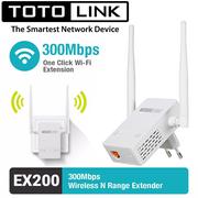Thiết bị kích sóng Totolink EX200 chính hãng cắm điện 220v