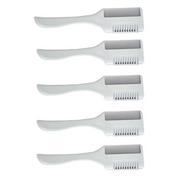 Bộ 5 chiếc lược tỉa tóc kẹp dao cạo