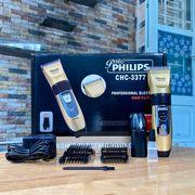 Tông đơ cắt tóc PHILIPS CHC-3377 chính hãng thế hệ mới 2020 tặng 2 pin