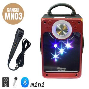 Loa mini xách tay hát karaoke Sansui MN03 - Tặng kèm micro