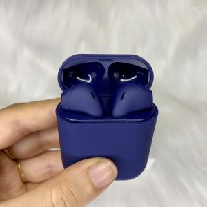 Tai nghe cảm ứng bluetooth không dây true wireless cao cấp I12 TWS