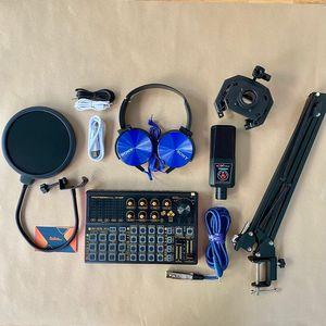 Combo thu âm tại nhà AQTA ALC-280  soundcard SK300 PLUS
