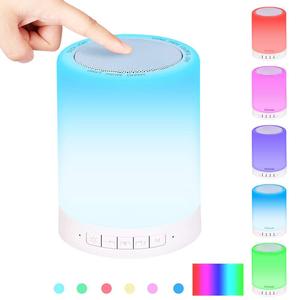 Loa bluetooth mini Y02 đèn cảm ứng 7 màu