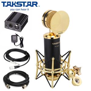 Micro thu âm cao cấp Takstar PC K820 - Kèm nguồn 48V và dây XLR