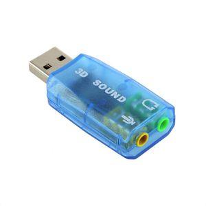 USB chuyển đổi âm thanh sang jack 3.5mm - 5.1
