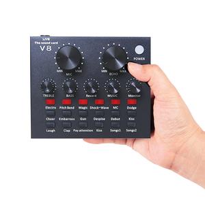 Souncard thu âm chuyên nghiệp V8 hỗ trợ Auto tone - Phiên bản quốc tế