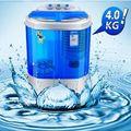 Máy giặt mini 2 lồng giặt 4kg kiêm chức năng sấy khô