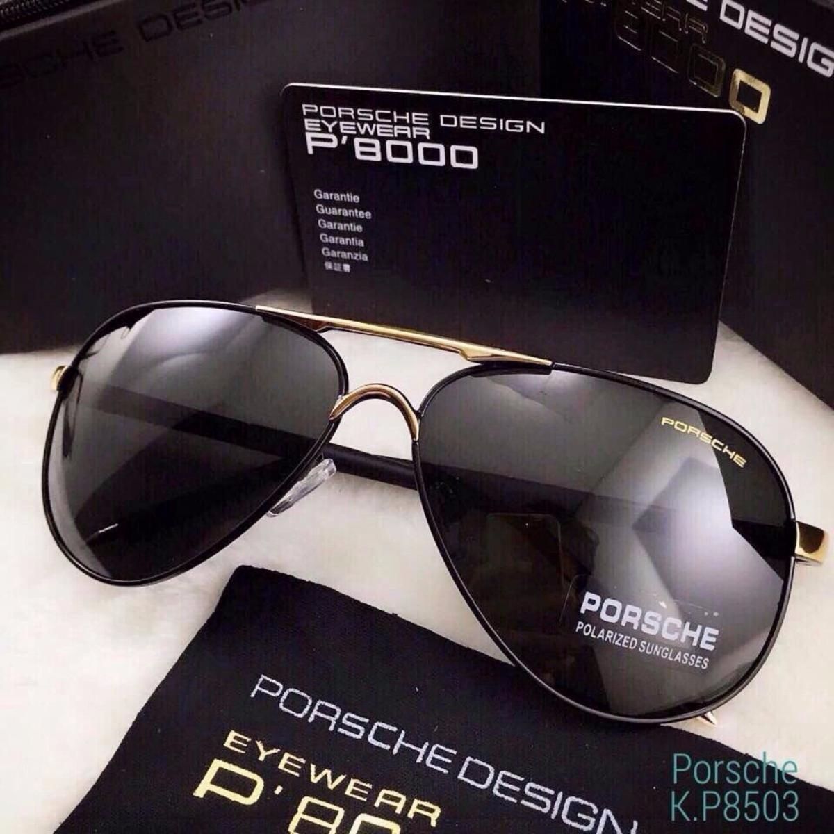 Mắt Kính PORSCHE P8000 - Hàng đẹp Fullbox túi chống sốc và thẻ Original