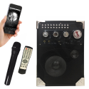Loa xách tay di động K66 Vanensong - Tặng kèm một micro không dây karaoke