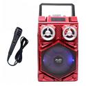 Loa cầm tay karaoke P115 - 1 tấc đôi công suất khủng