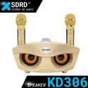 Bộ micro bluetooth kiêm loa rời SD306 (Cú vọ)- Âm thanh nổi Stereo 3D rất ấn tượng