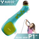 Micro không dây kèm loa cho bé KROK P1 chính hãng hát karaoke