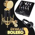 Bộ micro thu âm tình ca Bolero Tasktar PCK820 - Upod Nano - Tặng tai nghe ISK HD2000