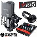 Bộ micro thu âm đỉnh cao tại nhà Tasktar PCK850 - Upod Pro - Tặng tai nghe Takstar HD2000