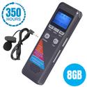 Máy ghi âm chất lượng cao GH700 - Có micro ngoài đi kèm hỗ trợ lọc âm