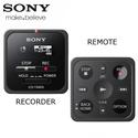 Máy Ghi Âm Kỹ Thuật Số Sony ICD-TX800 - Điều Khiển Từ Xa