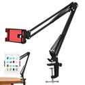Chân kẹp bàn gắn ipad hoặc điện thoại Livestream N46