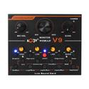 Soundcard thu âm giá rẻ V9 - Phiên bản Quốc Tế tiếng Anh Autotune