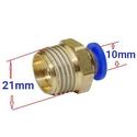 Răng ren ngoài RN 21 - Nối dây 10mm (21 ra 10mm)