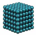 Bộ đồ chơi xếp hình 216 viên nam châm thông minh Magic Buckyballs tròn - nam châm ảo thuật (Xanh Navy)